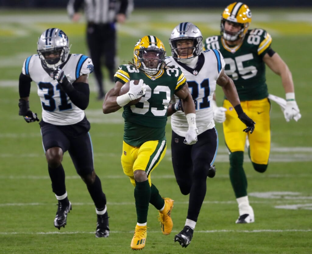 NFL rumors: Aaron Jones free agency