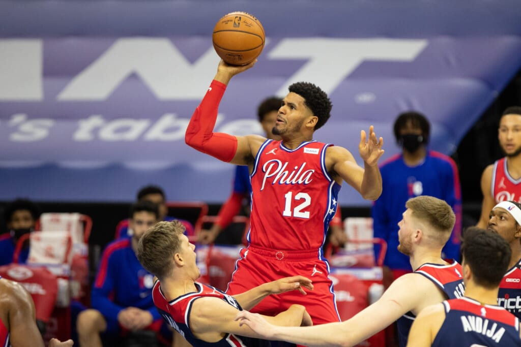 76ers Tobias Harris struggled against Wizards