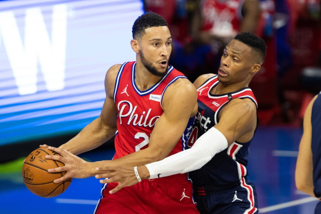 NBA rumors: Ben Simmons and the 76ers beat Russell Westbrook's Wizards