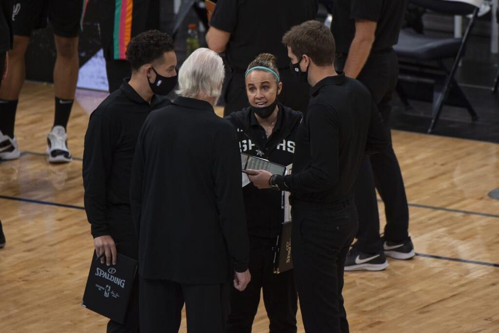 Spurs' Becky Hammon makes sports history