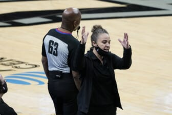 Spurs assistant Becky Hammon makes sports history