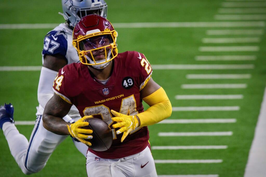 NFL injury report: Antonio Gibson
