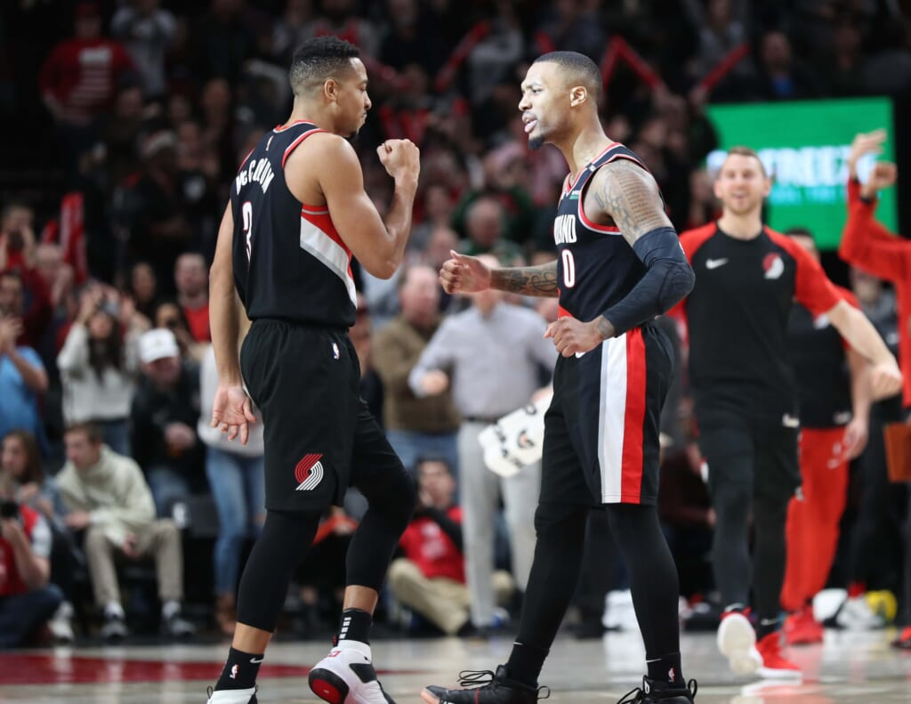 NBA power rankings: Lillard, McCollum and the Blazers