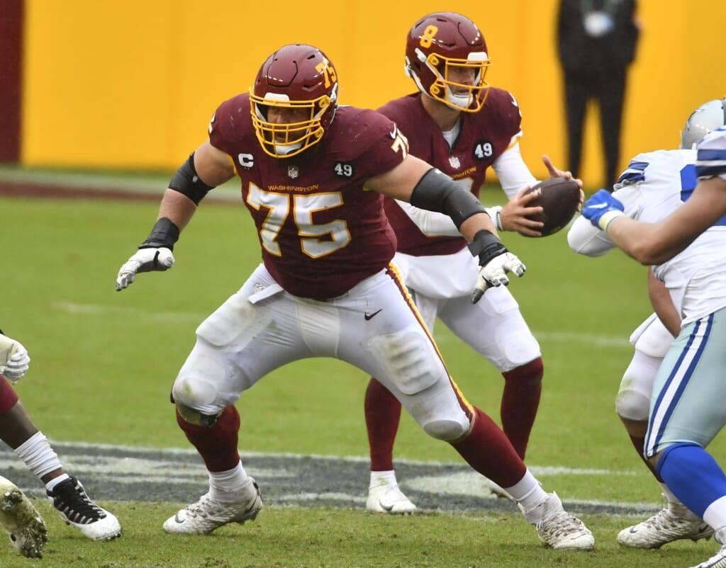 Washington Football Team places franchise tag on Brandon Scherff