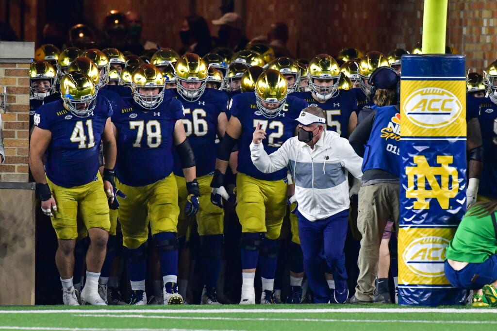 College football rankings: Notre Dame