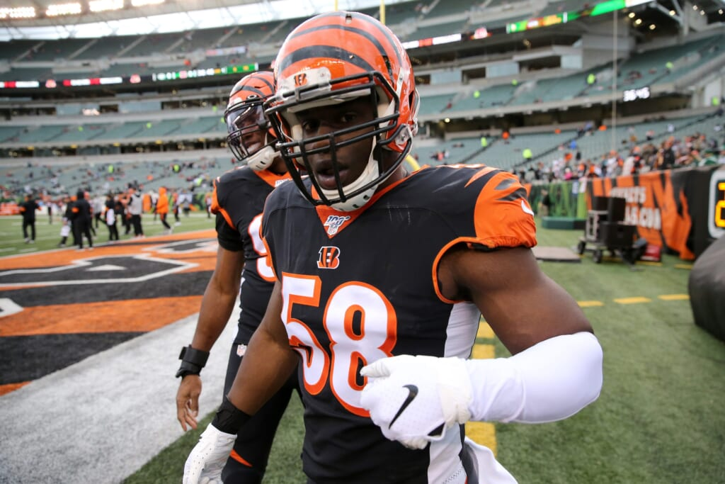Cincinnati Bengals rebuild: Re-sign Carl Lawson, William Jackson