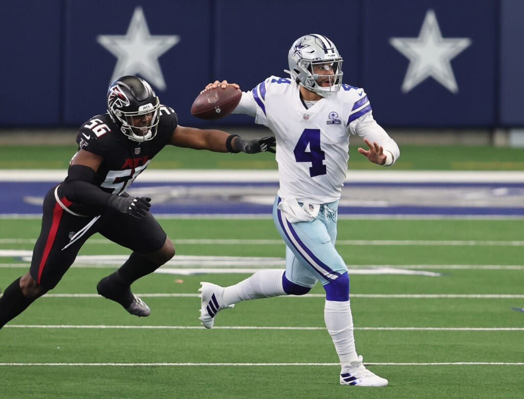 Pittsburgh Steelers quarterback: Dak Prescott bails on Dallas