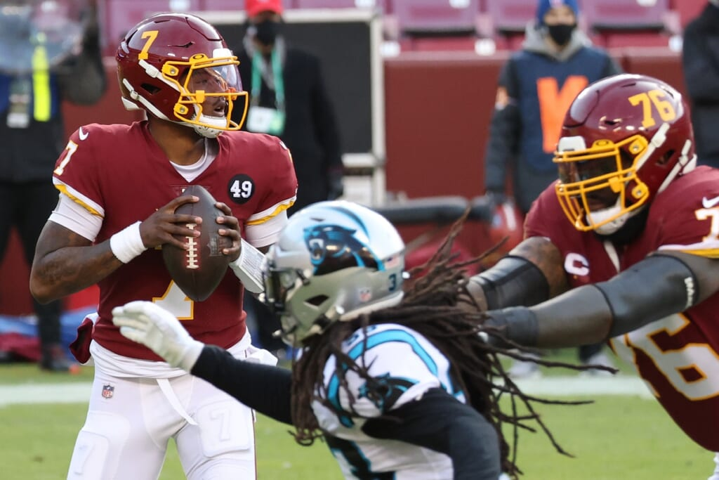 Carolina Panthers quarterback outlook for 2021: Dwayne Haskins an odd fit