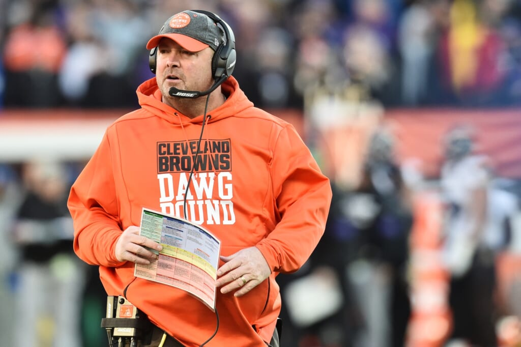 New York Giants tap Freddie Kitchens as interim OC vs. Browns