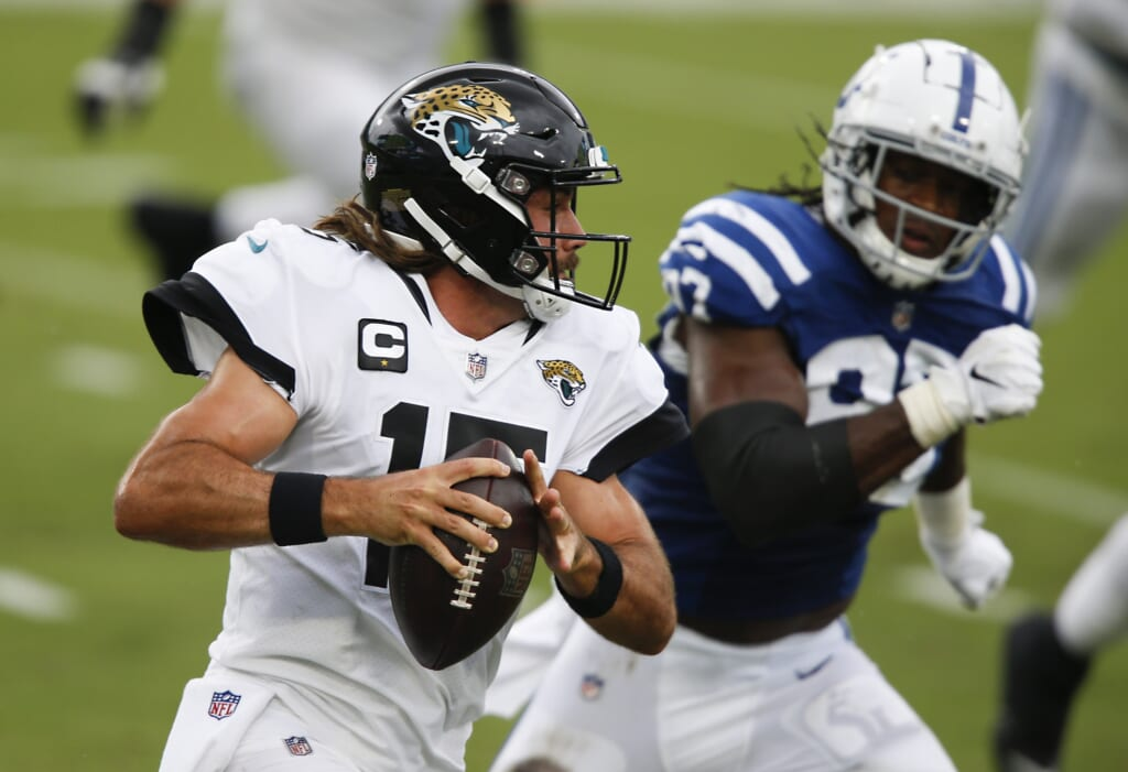 Gardner Minshew: Could he leave Jacksonville Jaguars for AFC South rival Colts?