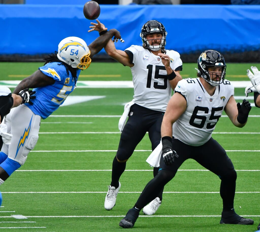 Jacksonville Jaguars let Gardner Minshew down in 2020