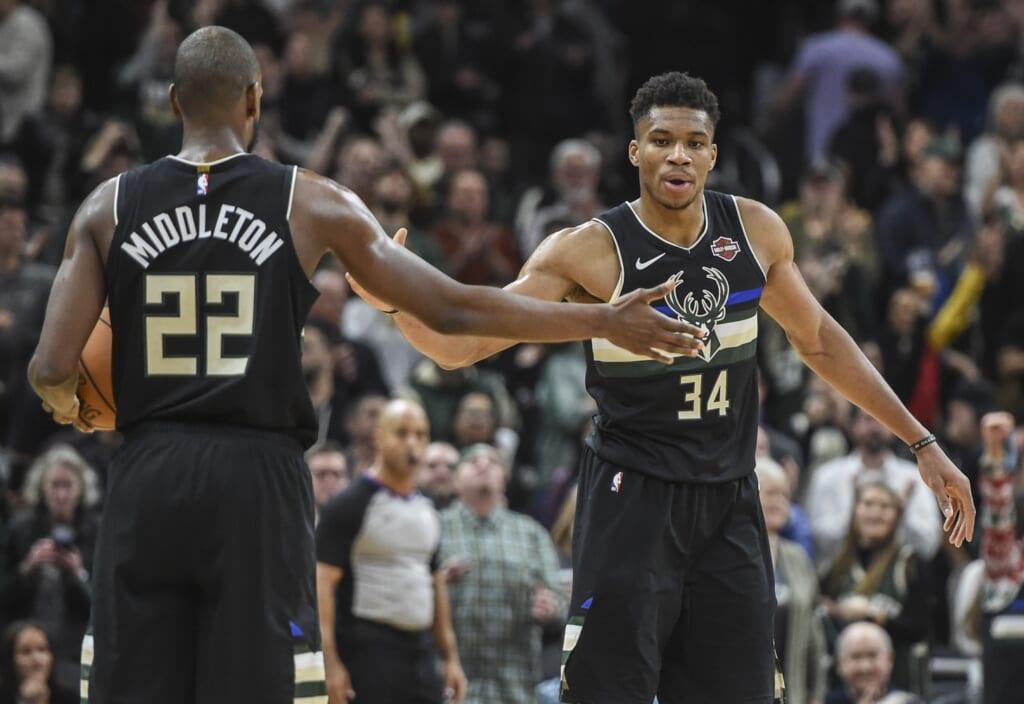 NBA Vegas odds: Milwaukee Bucks
