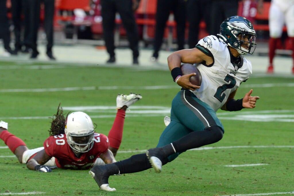 Jalen Hurts Philadelphia Eagles running