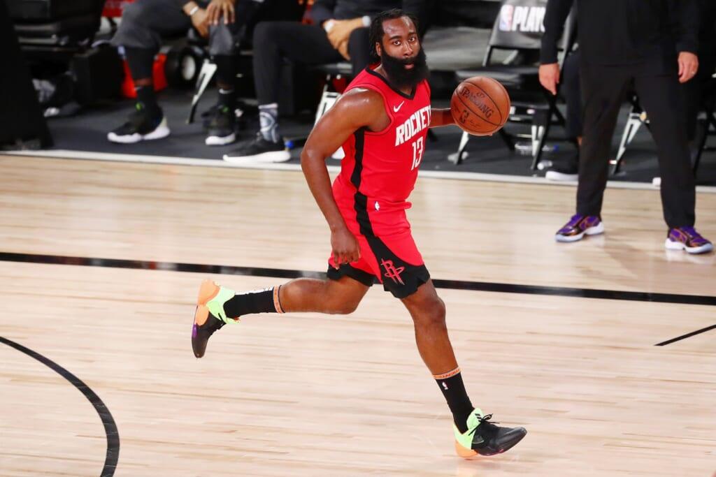 NBA preseason: John Wall more inclusive than James Harden for underdog Rockets