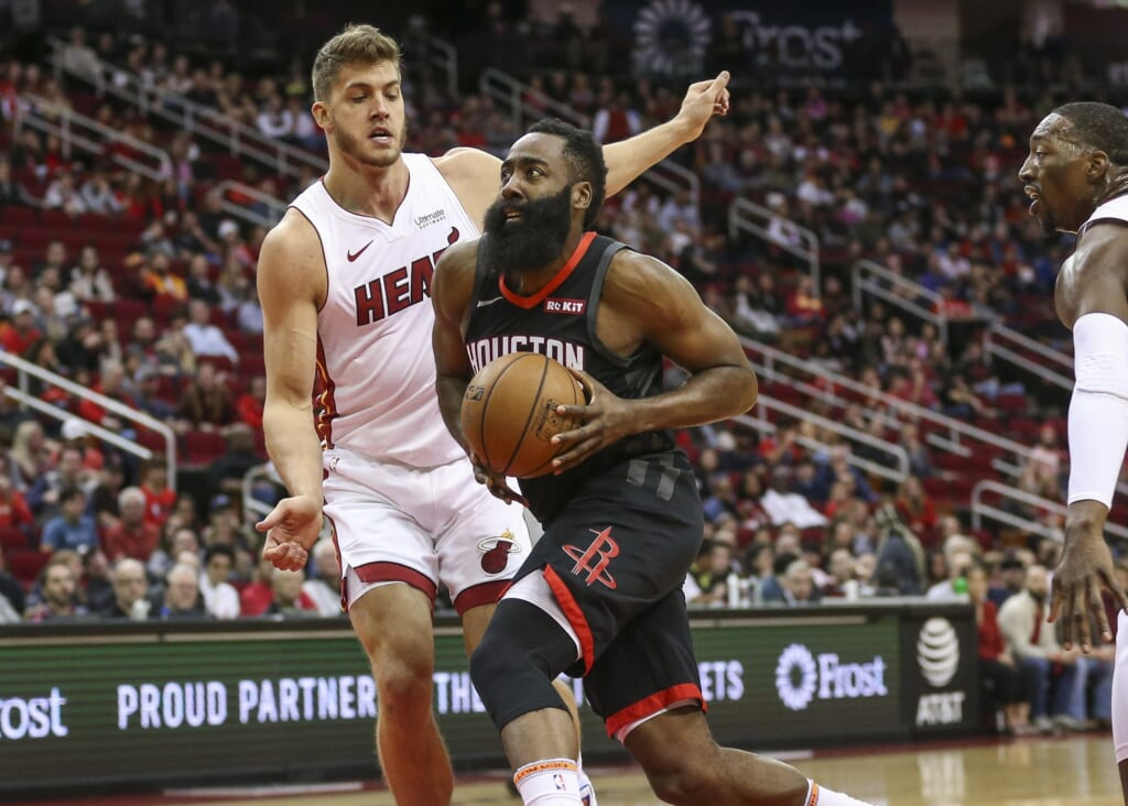 Miami Heat to pursue James Harden after Giannis Antetokounmpo contract extension?