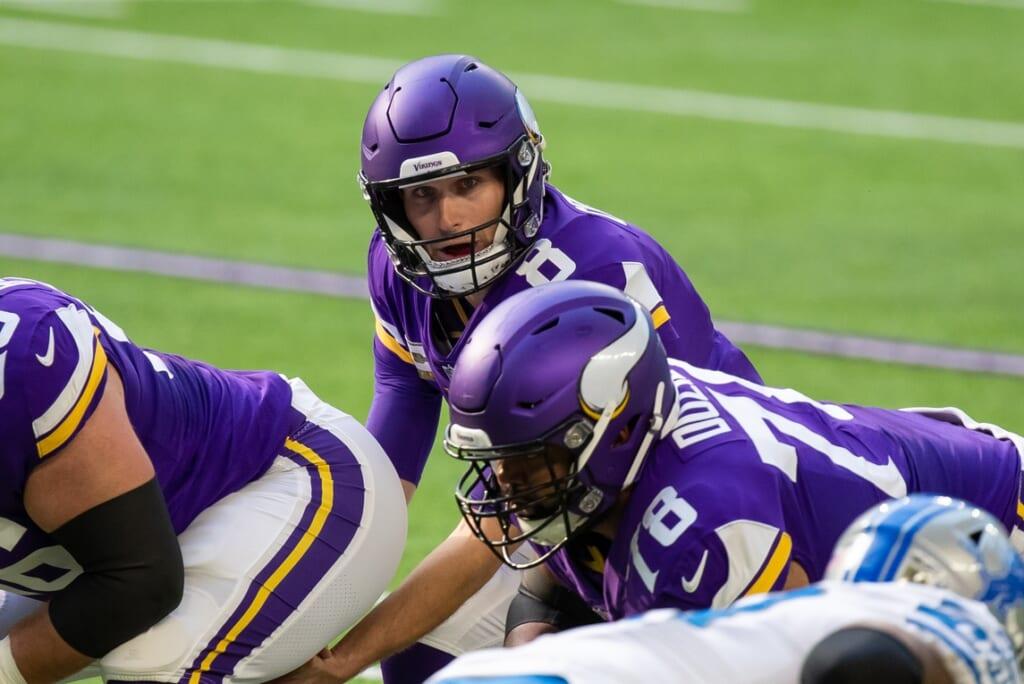 Kirk Cousins: Can QB keep Vikings ship afloat?