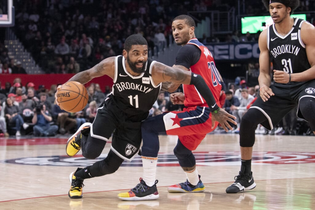 Nets could look to trade Kyrie Irving.