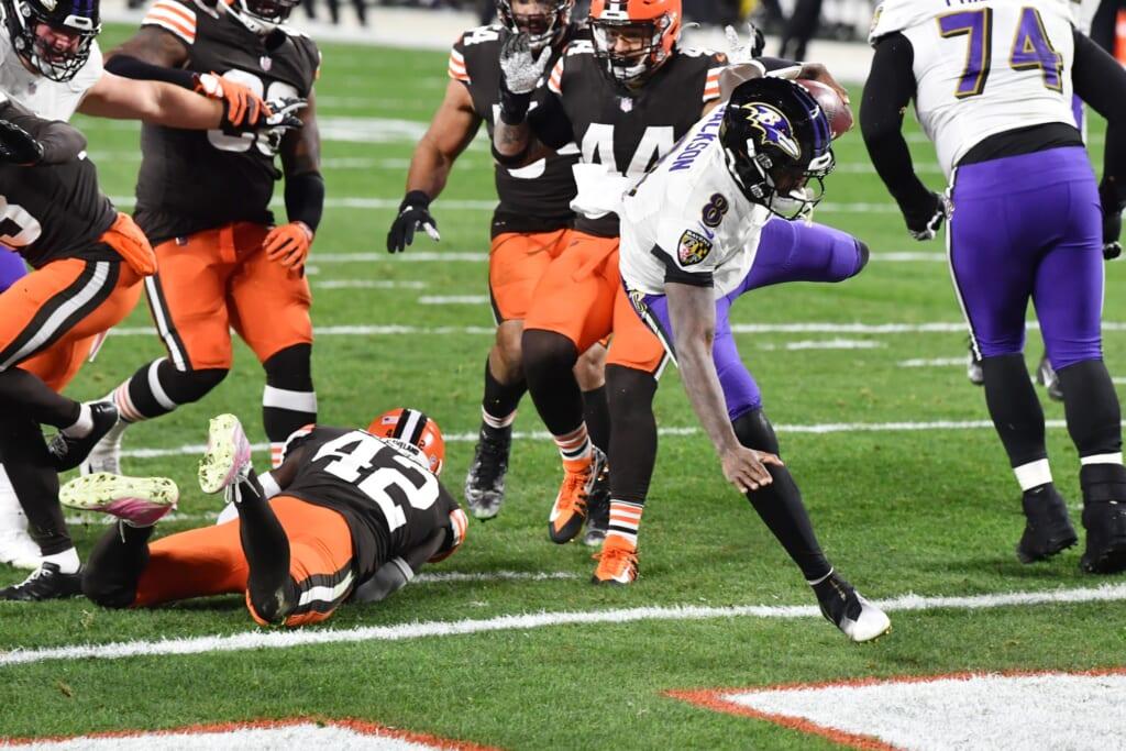 Baltimore Ravens: Lamar Jackson saves season vs. Browns