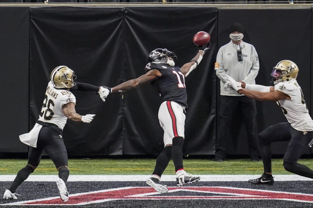 NFL injury report: injury update: Julio Jones