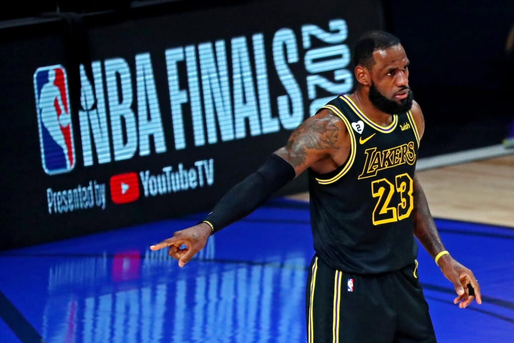 LeBron James' Lakers favored to repeat as NBA champions