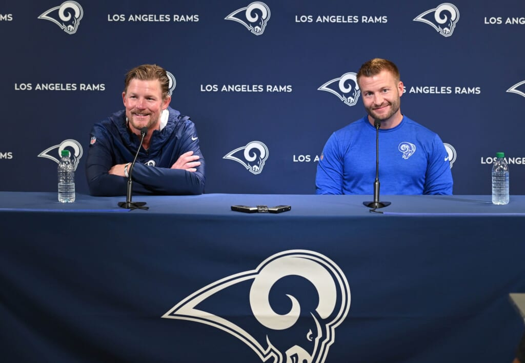 Los Angeles GM Les Snead's history suggests he won't hesitate to swing Jared Goff trade