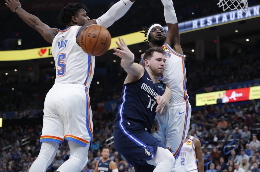 Dallas Mavericks NBA opening night point guard: Luka Doncic