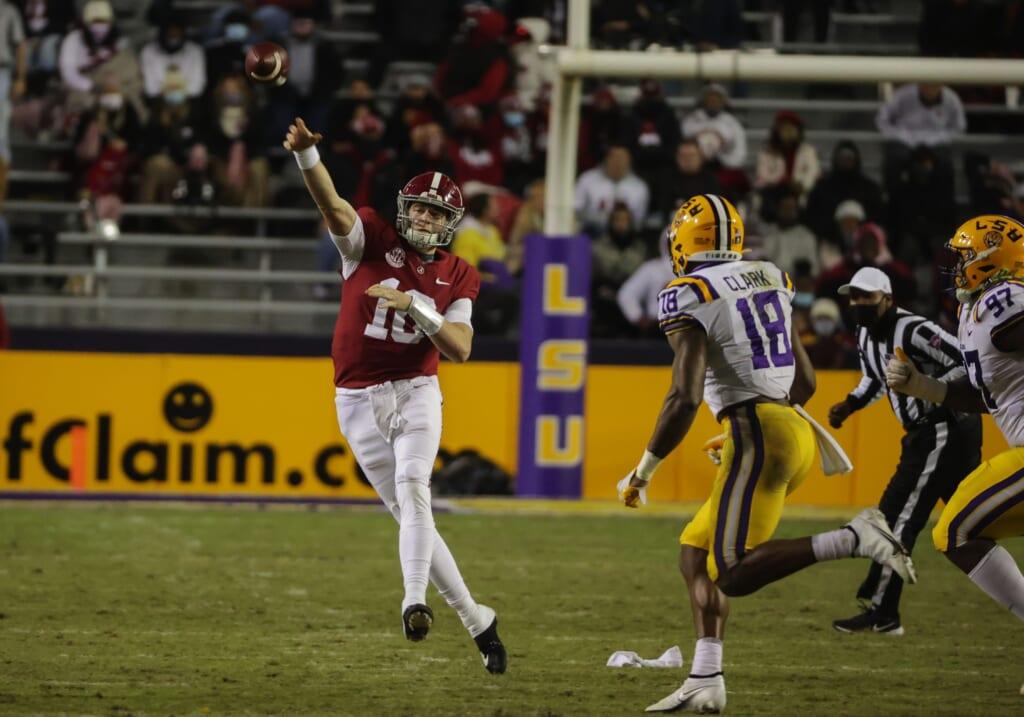 College football rankings: Alabama