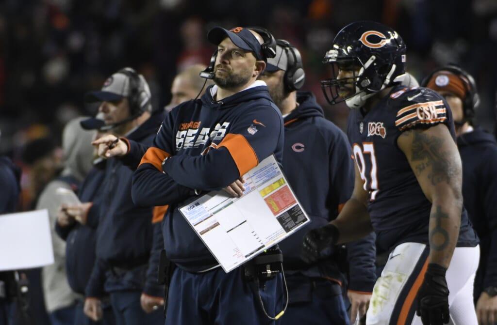 NFL head coaches losing credibility: Matt Nagy