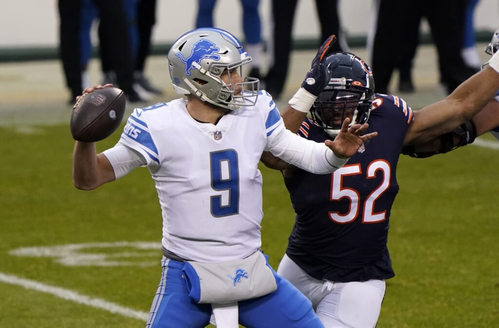 Could the Bears replace Mitch Trubisky with Matthew Stafford?