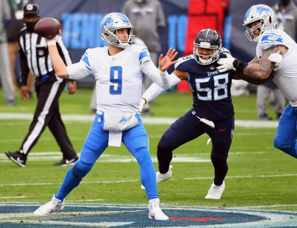 Indianapolis Colts quarterback 2021: Matthew Stafford