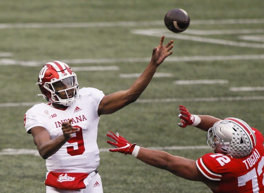 College football rankings: Indiana