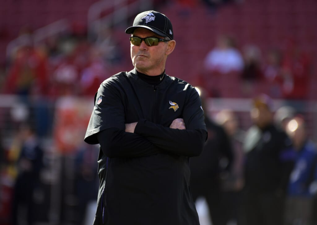 NFL head coaches losing credibility: Mike Zimmer