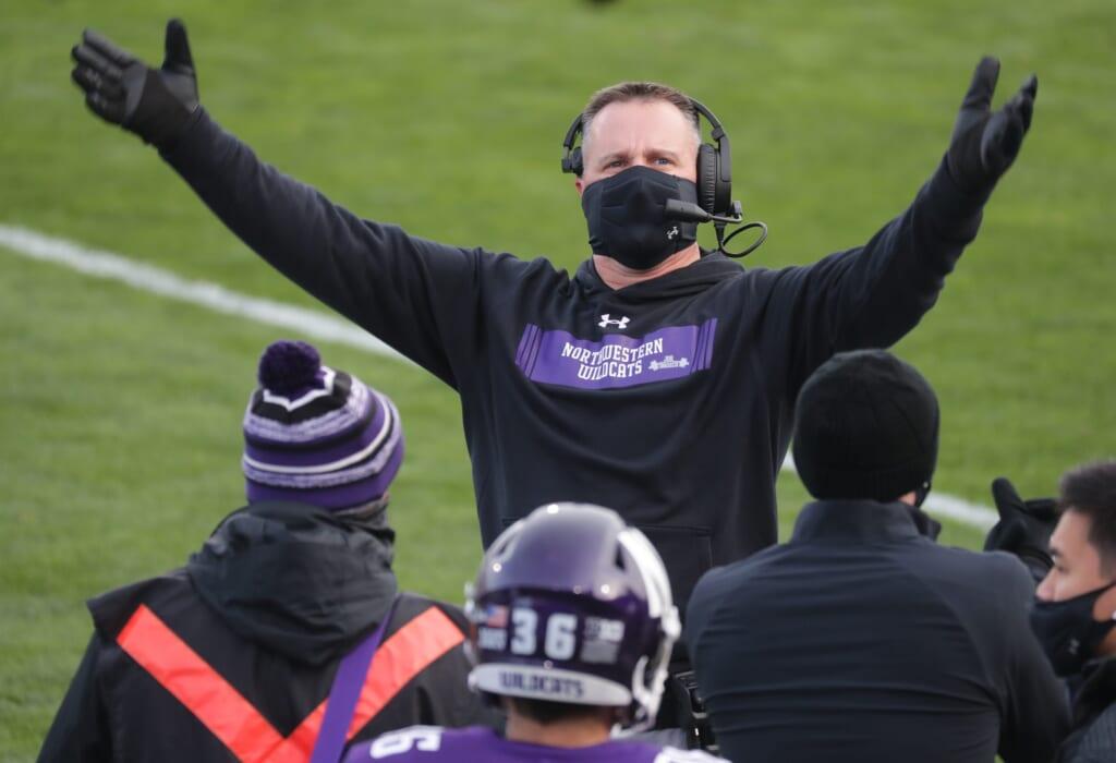 College football rankings: Northwestern hangs in top 25