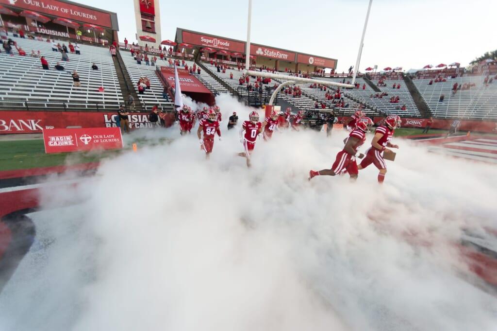 College football rankings: Louisiana