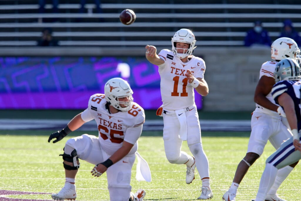 College football rankings: Texas
