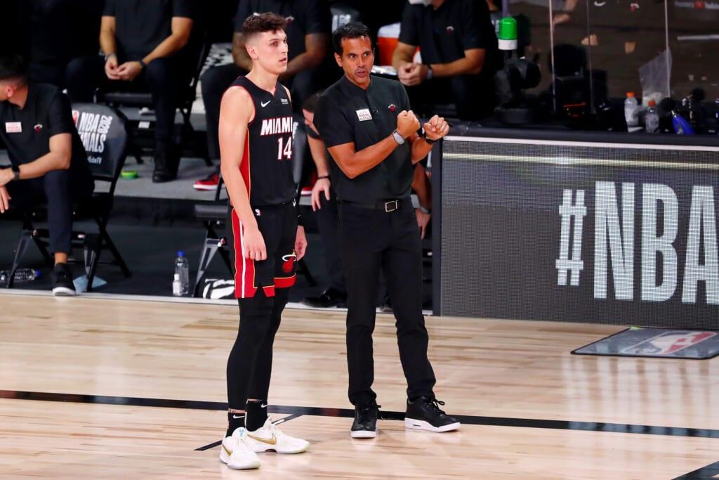 Miami Heat: Tyler Herro and Erik Spoelstra