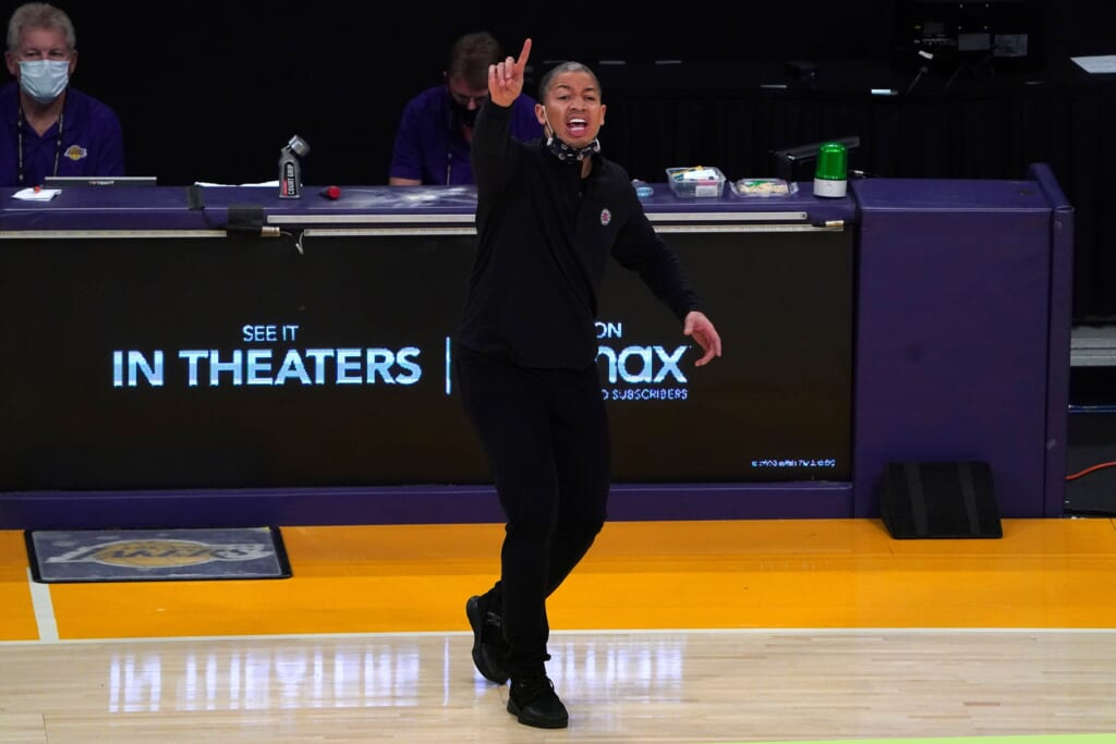 Tyronn Lue crushed it for Los Angeles Clippers on NBA opening night