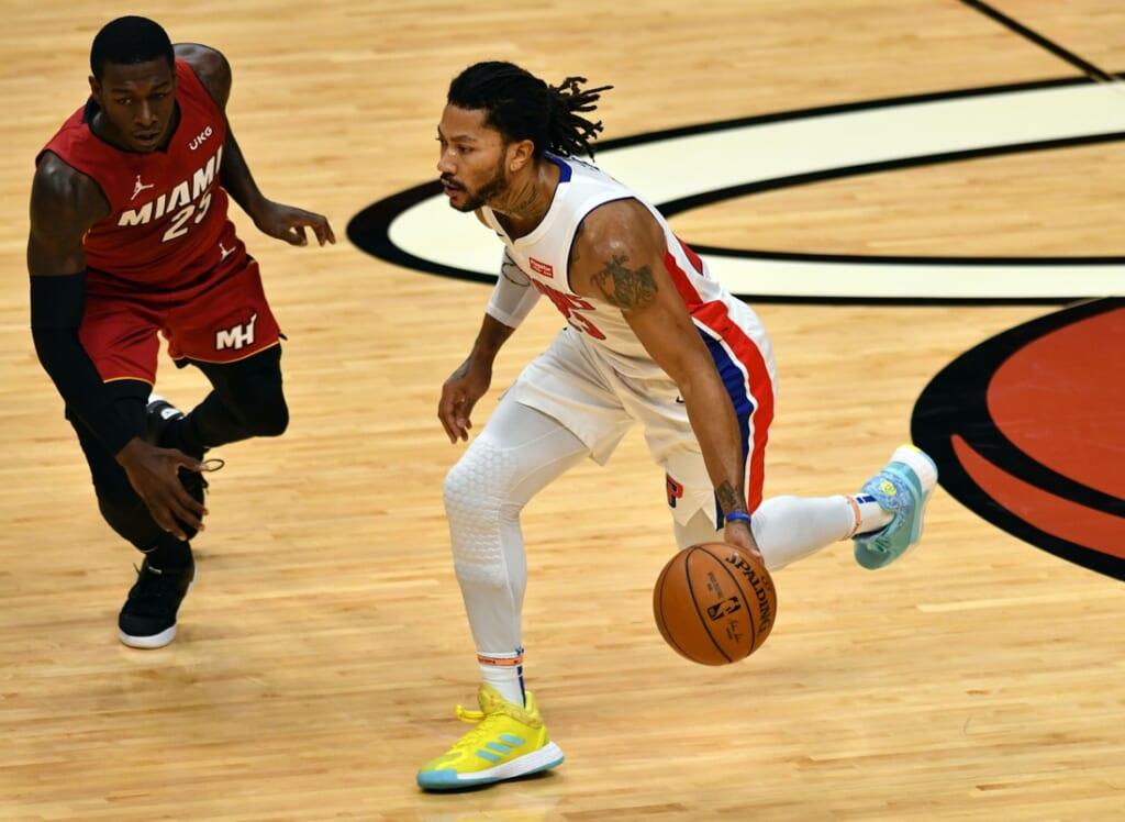Boston Celtics rumors: Could the team trade for Derrick Rose?