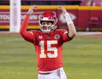 NFL MVP odds 2021: Patrick Mahomes, Aaron Rodgers lead pack