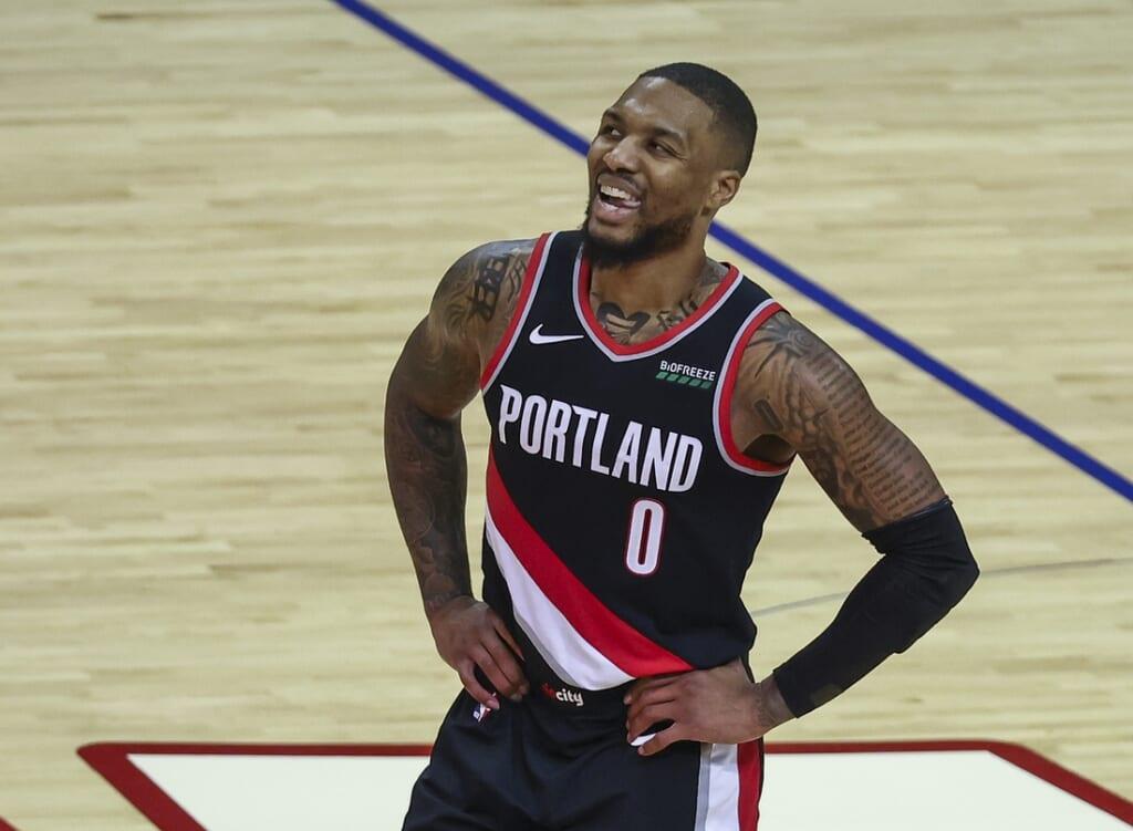 Single-game NBA scoring records: Damian Lillard, Portland Trail Blazers