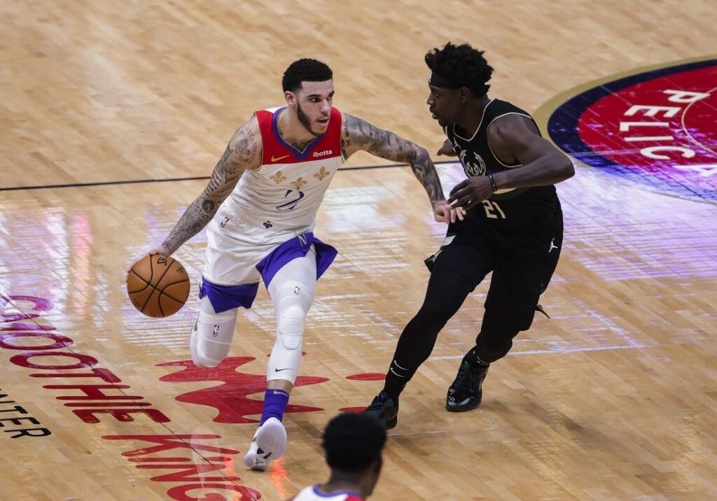 NBA rumors: Warriors, Pelicans talking Lonzo Ball trade