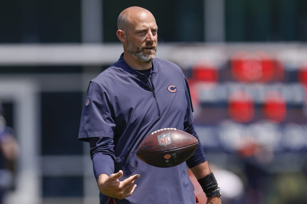 NFL coaches fired, Matt Nagy, NFL hot seat