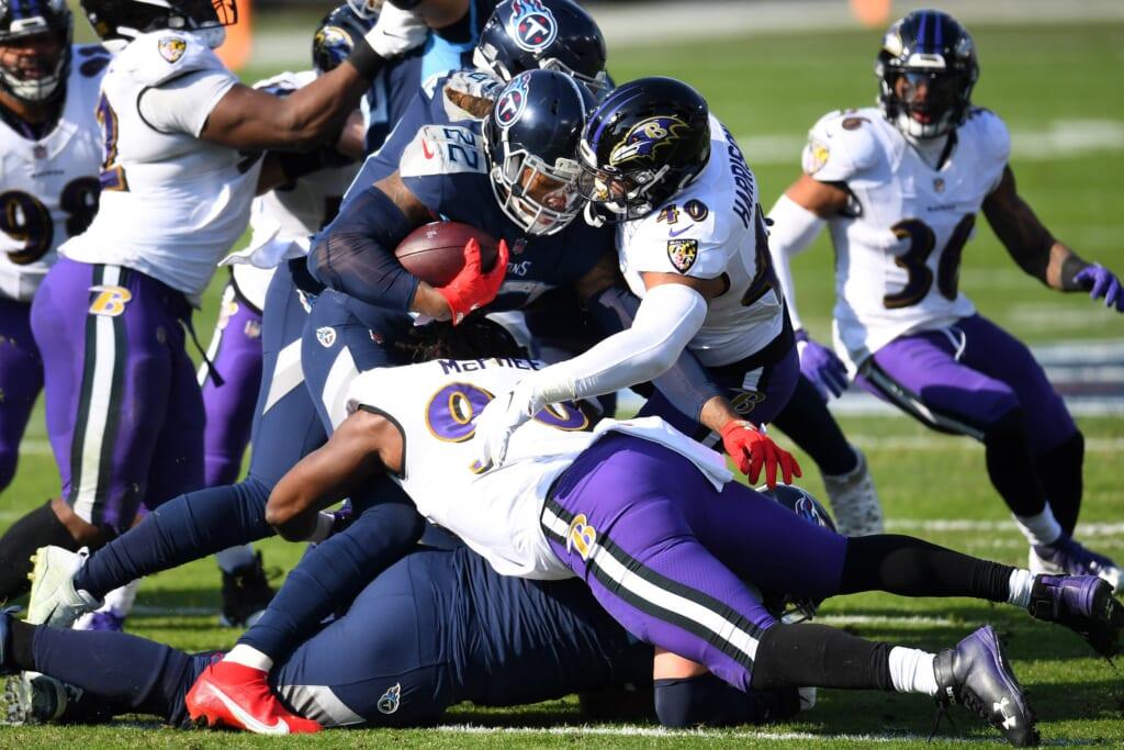 NFL Wild Card: Baltimore Ravens: Tennessee Titans