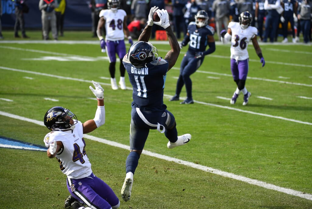 NFL Wild Card: Tennessee Titans: A.J. Brown