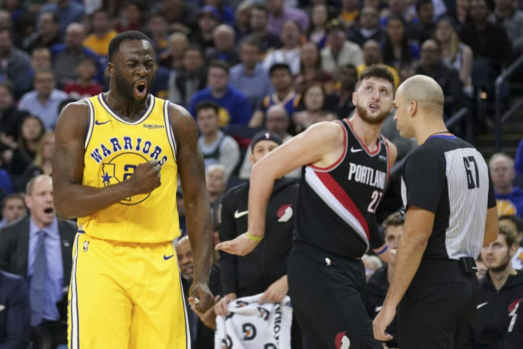 Blazers news: Could Jusuf Nurkic be part of a Draymond Green trade?