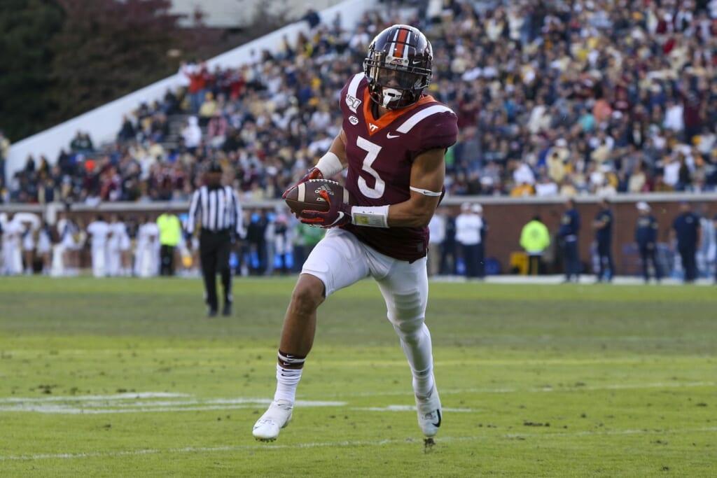 Atlanta Falcons draft picks: Caleb Farley, CB, Virginia Tech