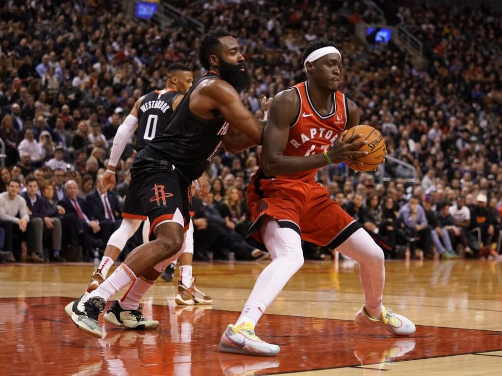 NBA Rumors: James Harden trade for Pascal Siakam?