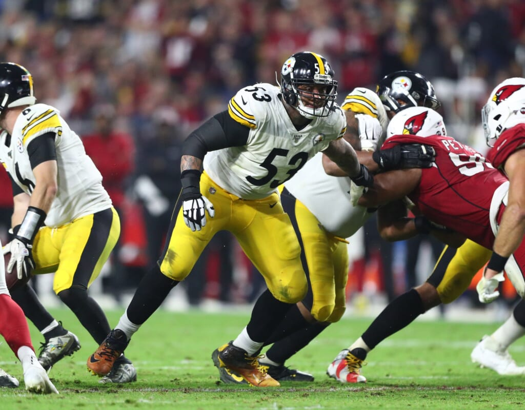 Pittsburgh Steelers center Maurkice Pouncey to retire.