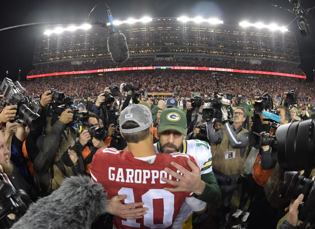 Could the 49ers pull off an Aaron Rodgers trade?
