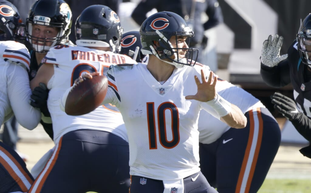Will Mitch Trubisky be back as the Chicago Bears QB next season?